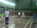 Indoor Badminton Court